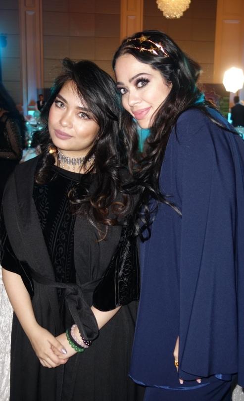 Me and presenter Laurette Elghoul